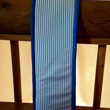 Padd de surfaix Taille cheval Tissus mariniere Biais bleu rois  Etat : Neuf A…