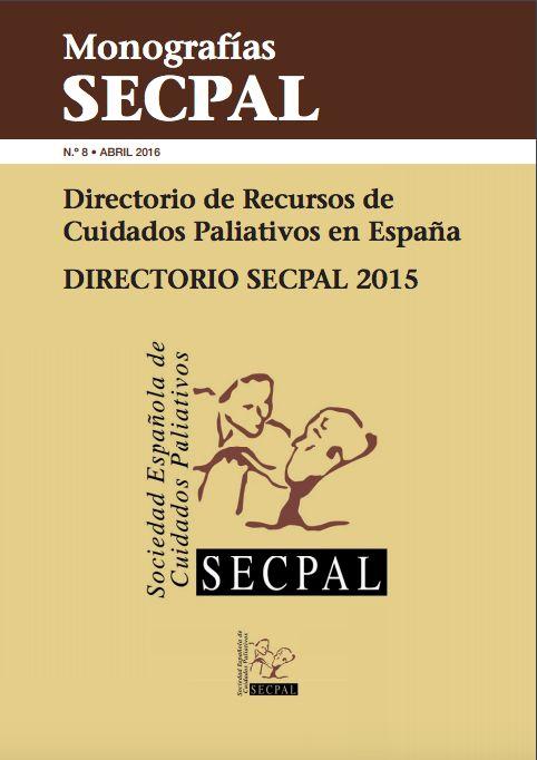 Acceso gratutio. Directorio de Cuidados Paliativos en España. SECPAL