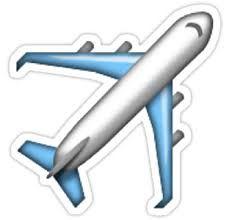 Image result for plane emoji