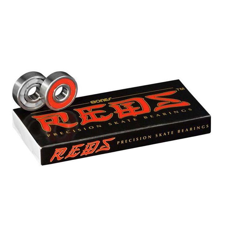 Bones Reds Skateboard Bearings (8 PC)