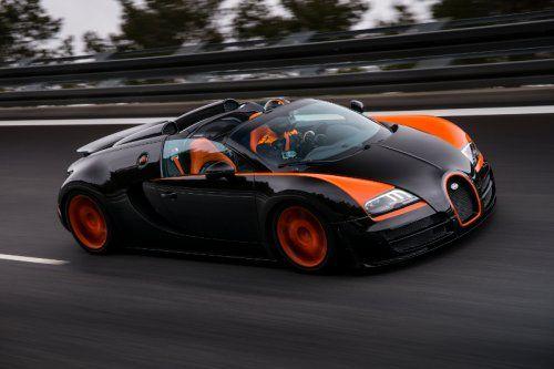Auto Report | 408.84 km/h Bugatti Veyron 16.4 Grand Sport Vitesse, récord mundial de velocidad para autos deportivos descapotables