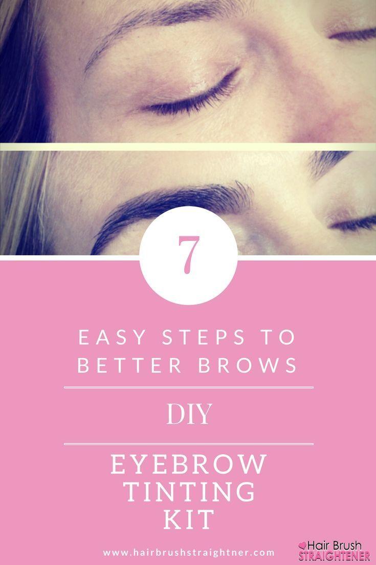 Easy DIY eyebrow tinting kit!