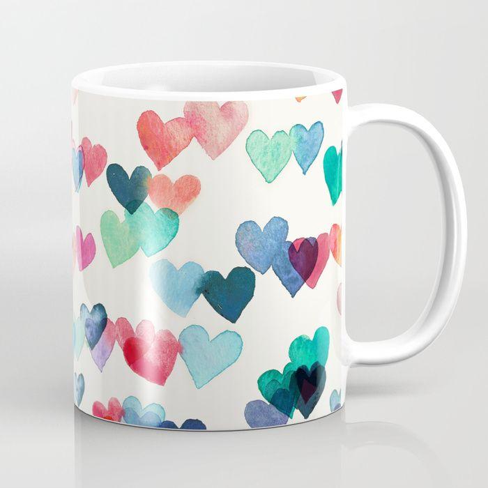 Valentine's Gift - Heart Coffee Mug