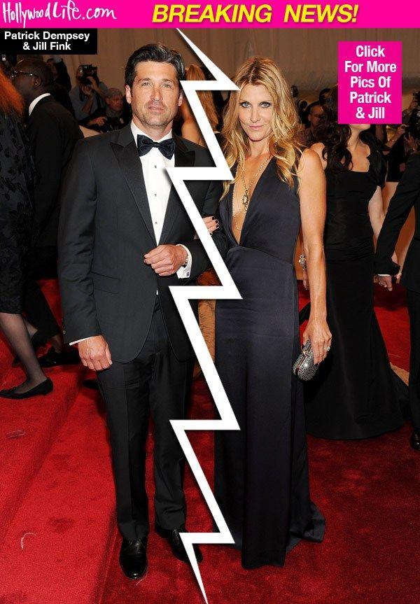 Jillian Fink Patrick Dempsey Divorce