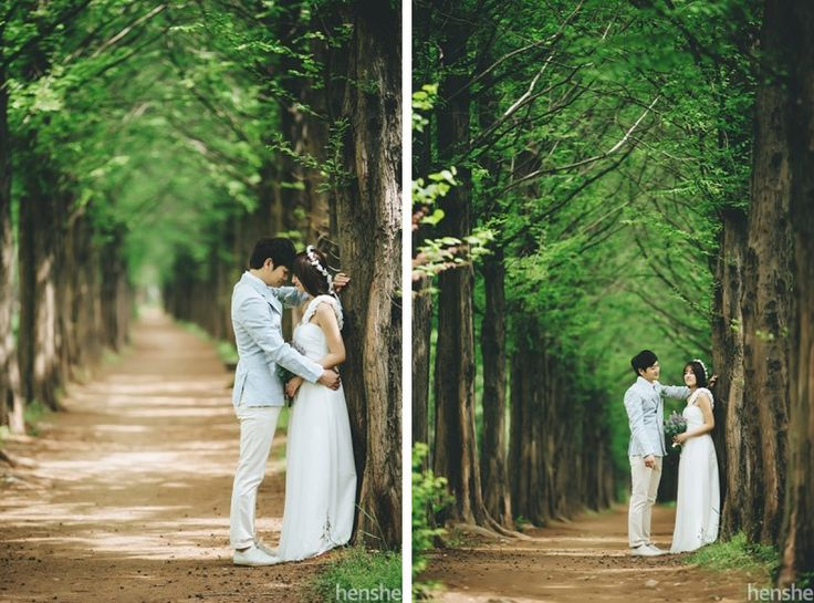 Romantic Korea Pre-Wedding Photography in the Studio and Park by Henshe Snap on OneThreeOneFour 13