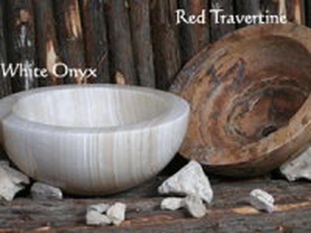 Rustic Bathroom Faucets And Fixtures | Stone Age Bathroom Sinks : Rooms :  Home U0026 Garden