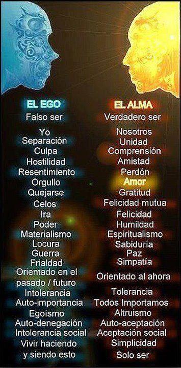 El ego y el alma #FrasesConMensaje