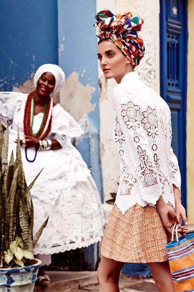 Edition Lingerie Inspirationen editionlingerie.de   In Living Colour: Our Brazil Fashion Shoot