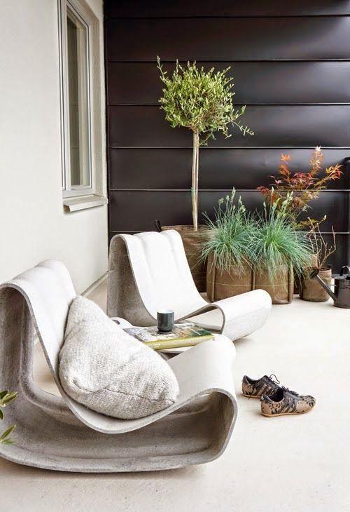 Vosgesparis: Inspiration for your garden   using concrete