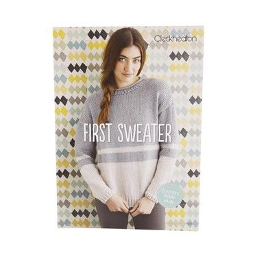 Cleckheaton First Sweater Country Wide 1008 White