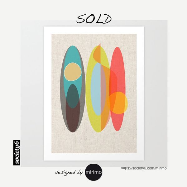 Sold! Thank you buyer!  Link to this> https://society6.com/product/surf-ugh_print#s6-4369682p4a1v45