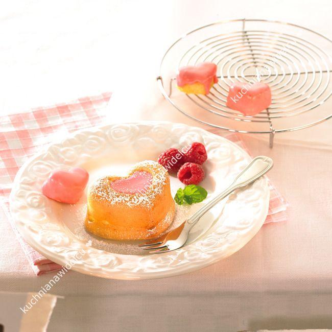 Foremki do muffinów i deserów - serca 4 szt | BIRKMANN