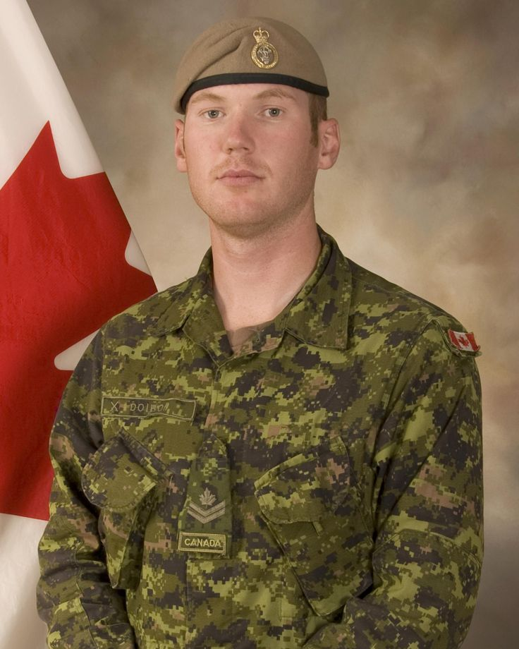Sergeant Andrew Joseph Doiron. Age: 31. Home Town: New Brunswisk, Canada. Unit: Canadian Special Operations Regiment. Deceased: March 6, 2015. Incident: Friendly fire incident, Northern Iraq. Photo: DND.