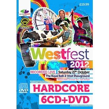 Slammin Vinyl - Westfest 2012 - Hardcore 6x CD and DVD Pack Label:Slammin Vinyl  Catalogue Number: WF12HH Format: 6 x CD, 1 x DVD Styles: Slammin Vinyl / Hardcore Heaven £16.66 (£19.99 inc VAT) www.catapult.co.uk