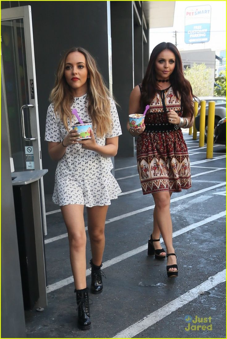 little mix frozen yogurt album promo la 05