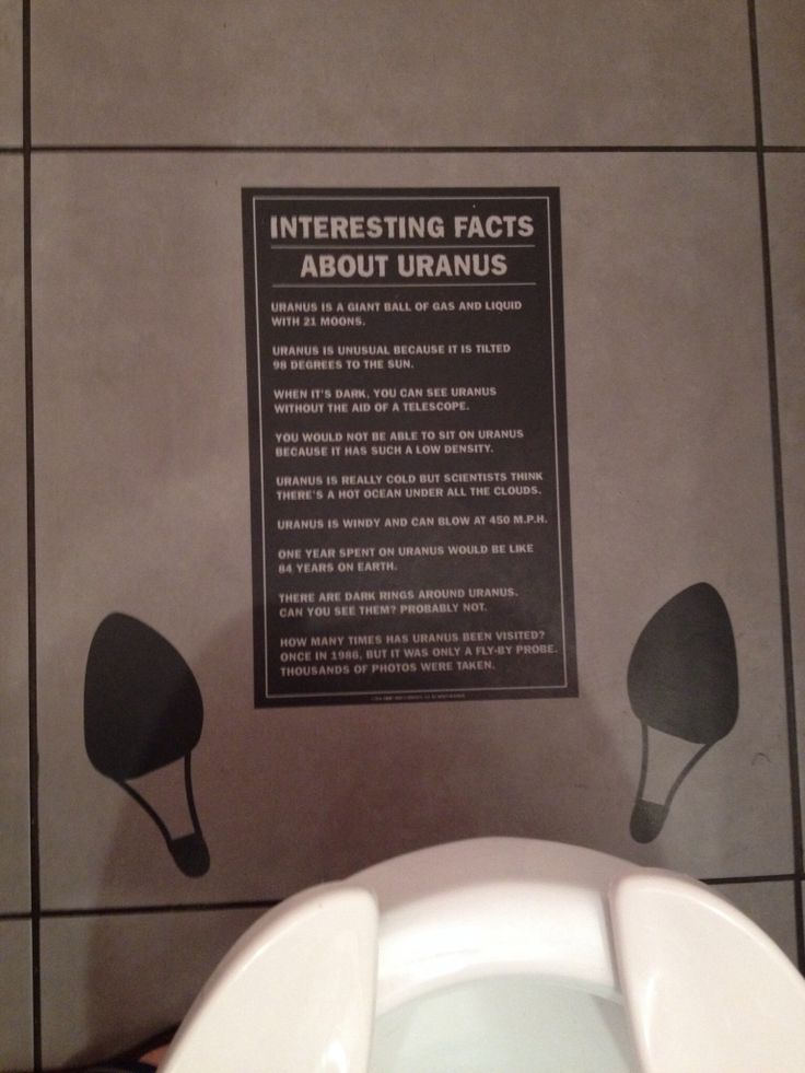 Uranus BATHROOM Fun Facts :-)