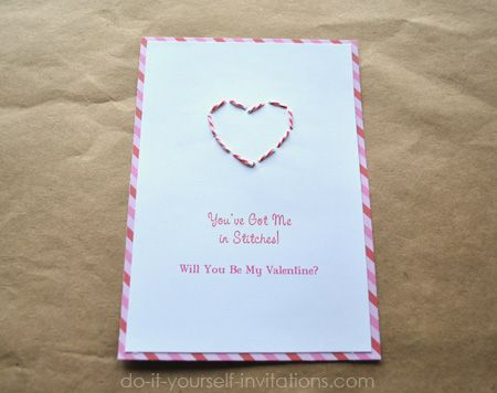 24 best images about Valentine's Day DIY Invitations/ Cards on ...