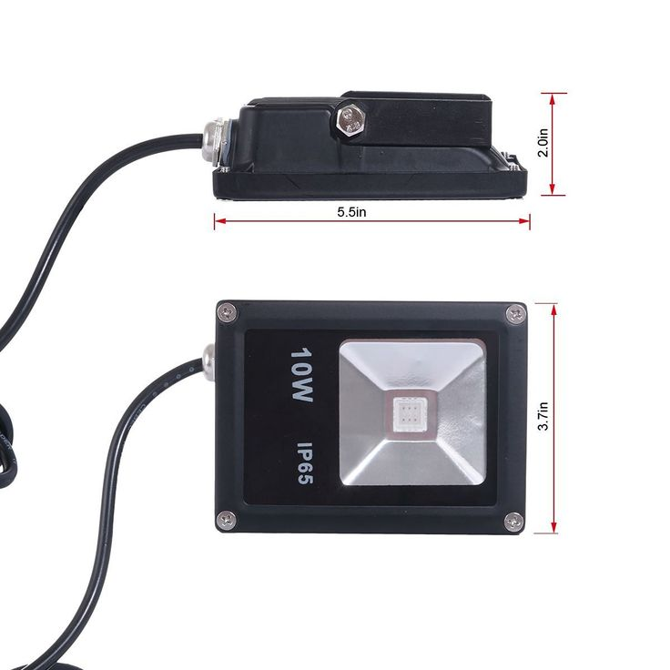 Amazon.com : Led Plant Grow Light, Gianor™10 Watt Flood Lights Fixture…