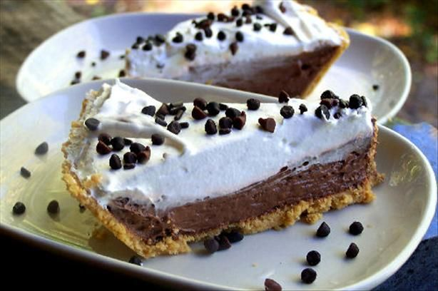 Easy back up plan for a quick desert. 5 Minute - Double Layer Chocolate Pie from Food.com: