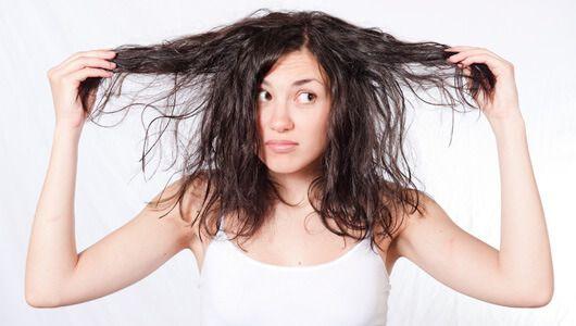 Yağlı saçın bakımı