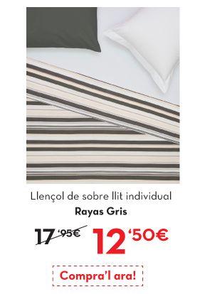 Ropa para el hogar con descuentos de hasta el 70% en www.lamallorquina.es