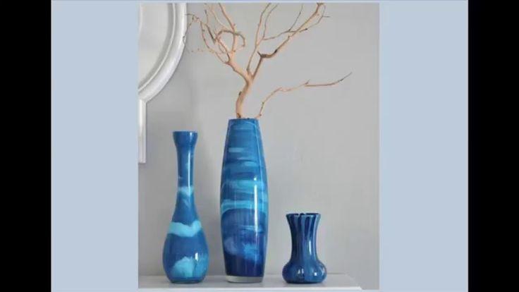 Красим стеклянные вазы. Супер идея - мастер класс