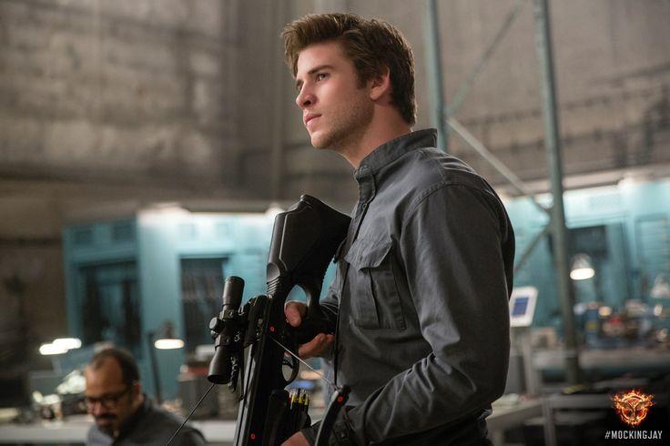 Liam Hemsworth stars as 'Gale Hawthorne'. #Mockingjay