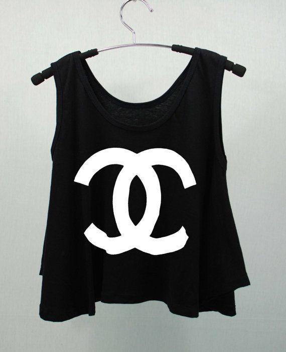CHANEL COCO CHANEL T Shirts Tank Top Tunic High Waist