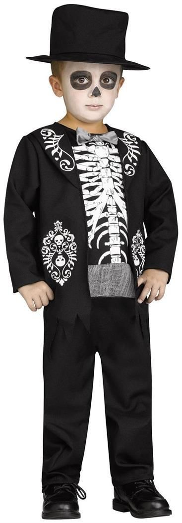 skeleton king child costume scary boy costumestop halloween