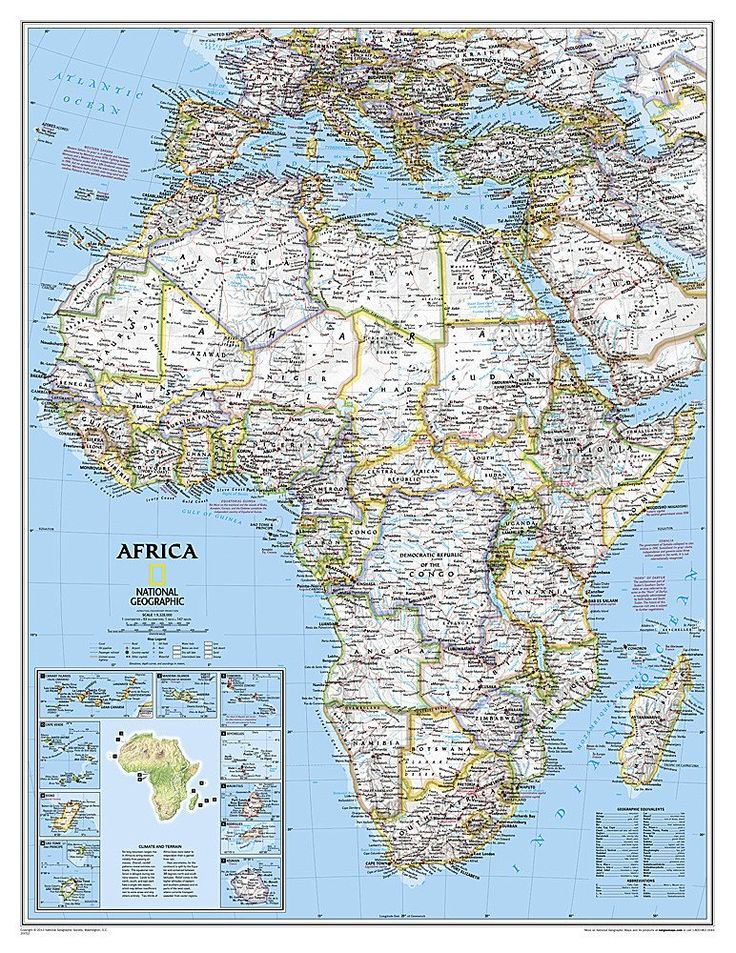 21 best wall maps images on pinterest buy maps wall maps and africa classic enlarged and laminated by national geographic maps publicscrutiny Images