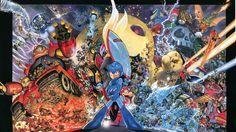 Rockman, Mega Man, Yusuke Murata 2560x1440 - Wallpaper - ImgPrix