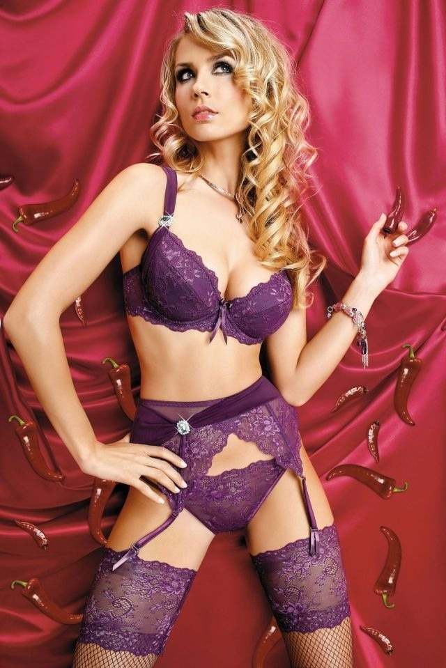 hair + purple lingerie | PURPLE FASHION | Pinterest | Sexy ...