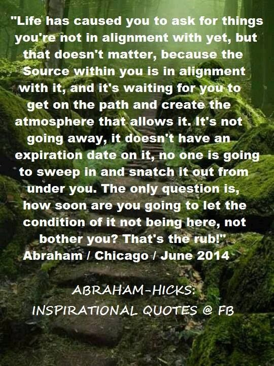 law of attraction dating abraham hicks