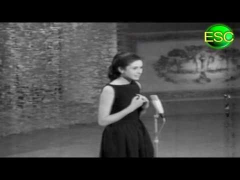 ESC 1964 Winner Reprise - Italy - Gigliola Cinquetti - Non Ho L'Età