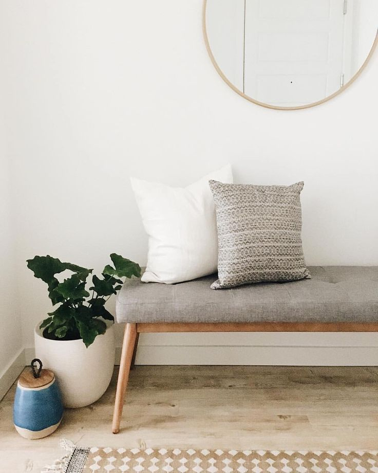 """14.1k Likes, 56 Comments - west elm (@westelm) on Instagram: """"Our Mid-Century Bench is the perfect entryway spot to ponder life while tying your shoes.  We love…"""""""