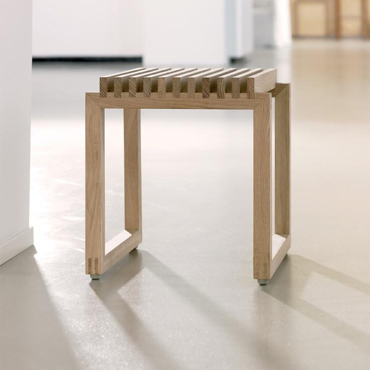 Cutter bänk - L. 40cm, ek