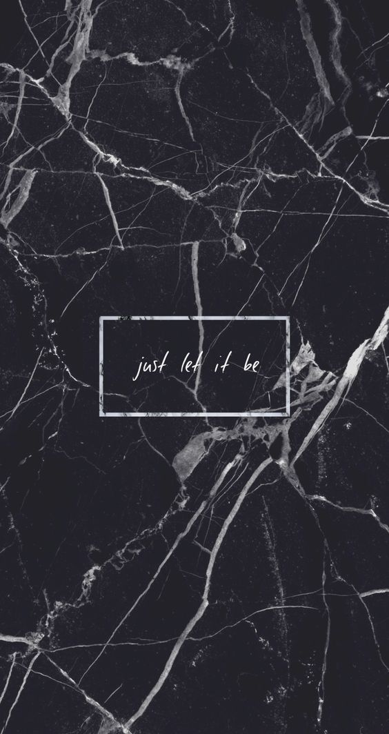 """""""Just let it be"""" a quick reminder❤️ Credits for the owner of this picture Found it online and thought it was appropriate for Pinterest"""