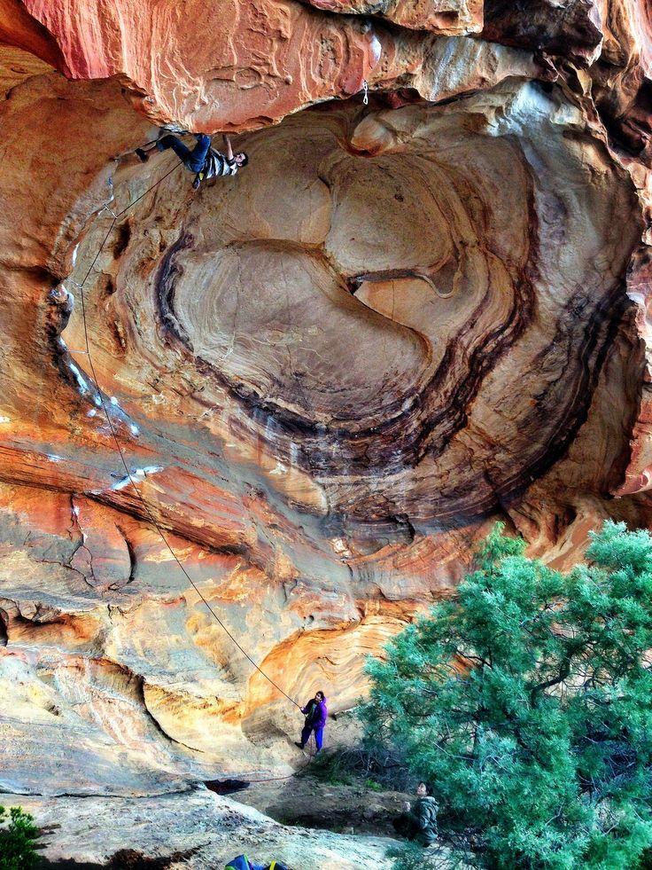 Eye of the Tiger (5.13c), Grampians, Australia