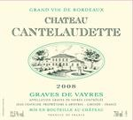 2008 Chateau Cantelaudette - Graves de Vayres - don't be intimidated by the name- this is a Sauvignon Blanc/Semillion blend- balanced, floral bouquet, and crisp flavors.  We are low on stock if you enjoy this wine- call us! 224-795-7866