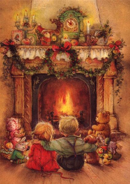 © Lisi Martin. This makes me feel warm and cozy. . . . Christmas memories. You know, no one can ever steal our memories!