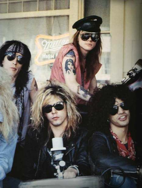 Guns'N'Roses. They look like the The Lost Boys here
