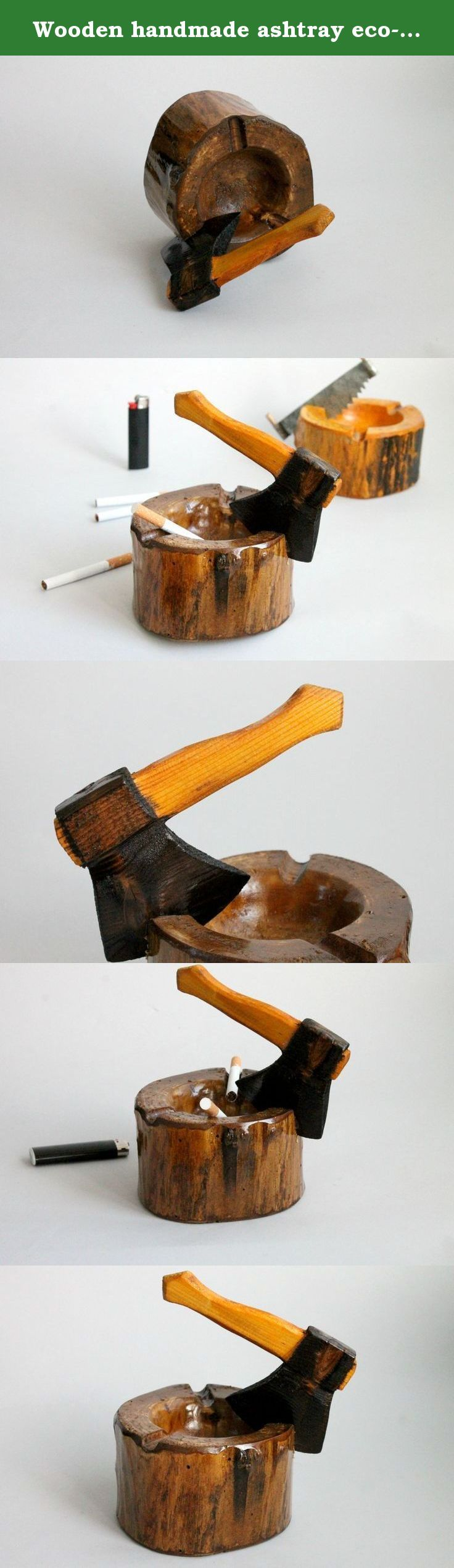 Wooden handmade ashtray eco-friendly. Pure natural,pollution-free,let people enjoy the pleasure of returning to nature Used advanced processing equipment,and the high temperature steam sterilization,moth-proofing,ultraviolet baking process refined,have high strength. Wooden ashtray is great tool for holding cigarette ash for home Keep your floor clean. With groove design for holding cigarette,also a great choice for table decoration Considering that we are very choosy for design and…