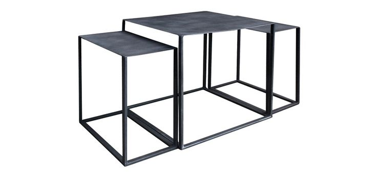 1000 Images About Tables Basses M Tal On Pinterest