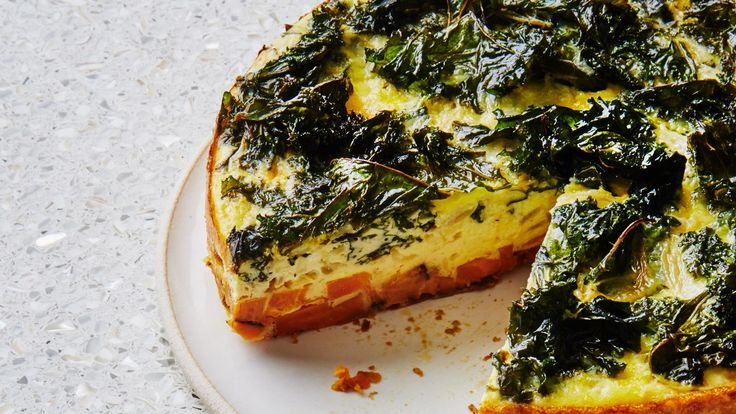 Weekend Plans: This Gluten Free Quiche With a Magic Sweet Potato Crust | Healthyish | Bon Appetit
