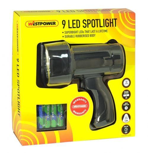 Westpower 9 led spotlight