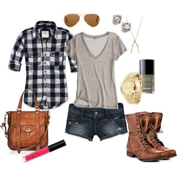 Super cute outfit for the summer. #Verano, #Fashion, #Moda ...