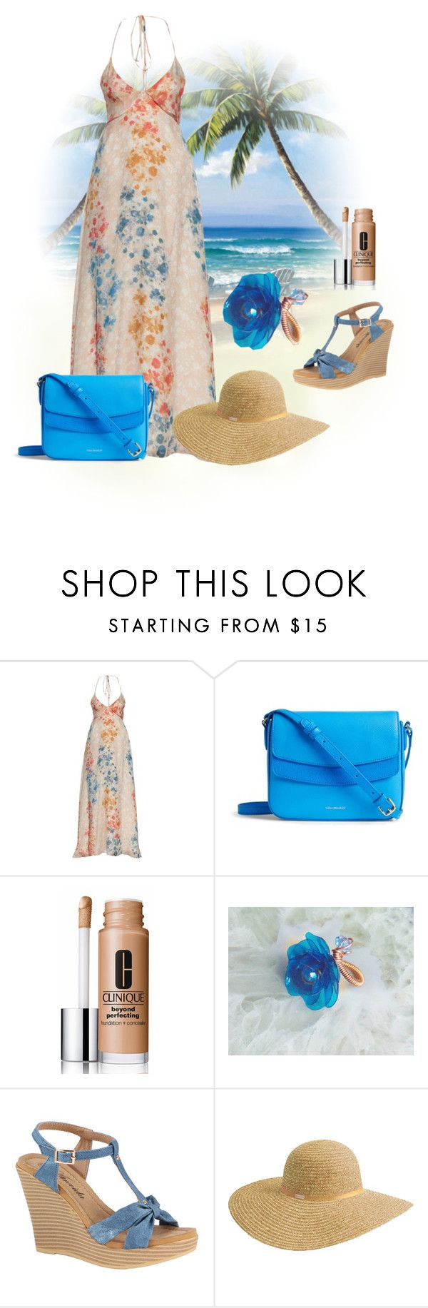 """Summer"" by styledonna on Polyvore featuring moda, Athena Procopiou, Vera Bradley, Clinique i Betmar"