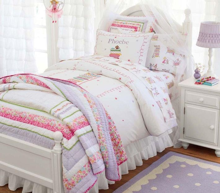 Another Cute Girls Bed Set From Pottery Barn For Home