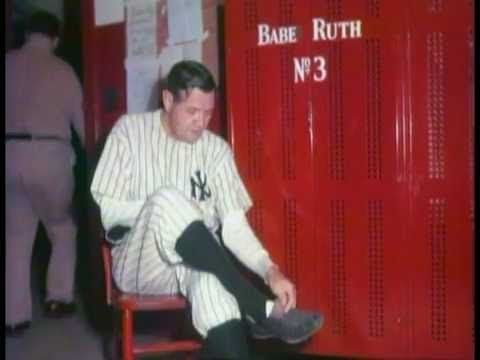 Babe Ruth in Color!!