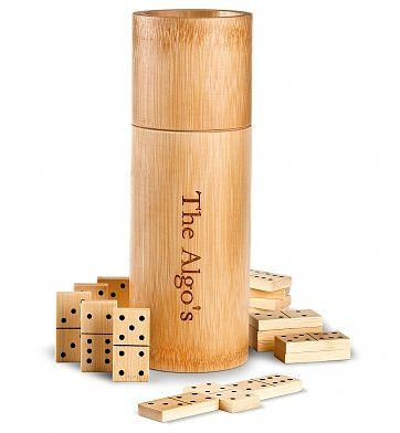 Bamboo Dominoes Corporate Gift Set http://101corporategiftideas.com/bamboo-dominoes-corporate-gift-set/